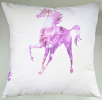 "Unicorn Cushion Cover 16"" Matches Next Bedding Curtains"